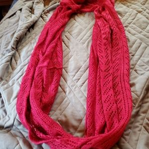 Sparkly Pink Scarf